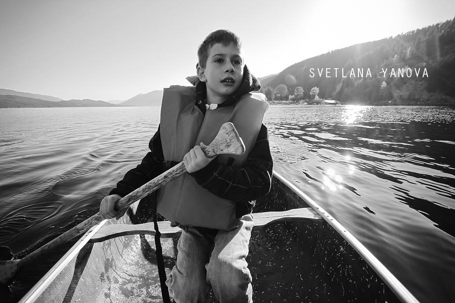 British Columbia, Ainsworth Hotsprings, boat ride, row boat, BC lakes