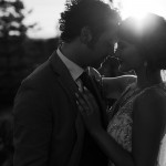 Calgary backyard wedding photos, calgary small intimate wedding, black and white wedding photos, Priddis wedding photos, sunset wedding photos