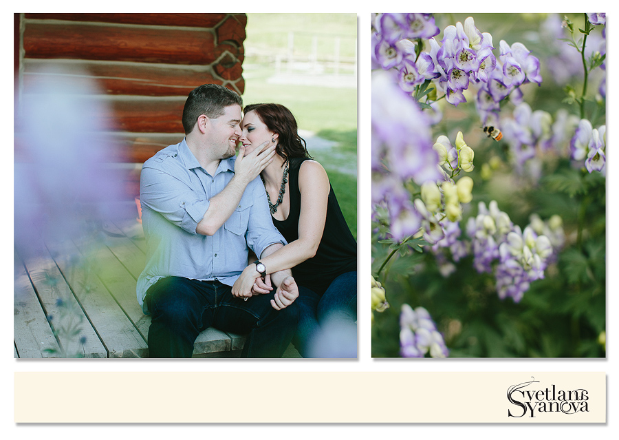 cochrane engagement photos, cochrane ranche, romantic engagement photos, ring shots calgary, ring shots with flowers, timeless best engagement photos
