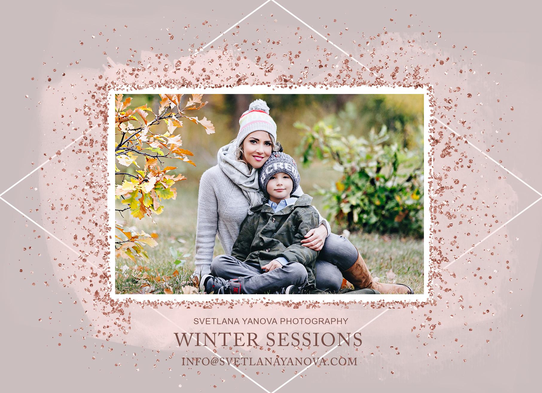 winter mini session calgary